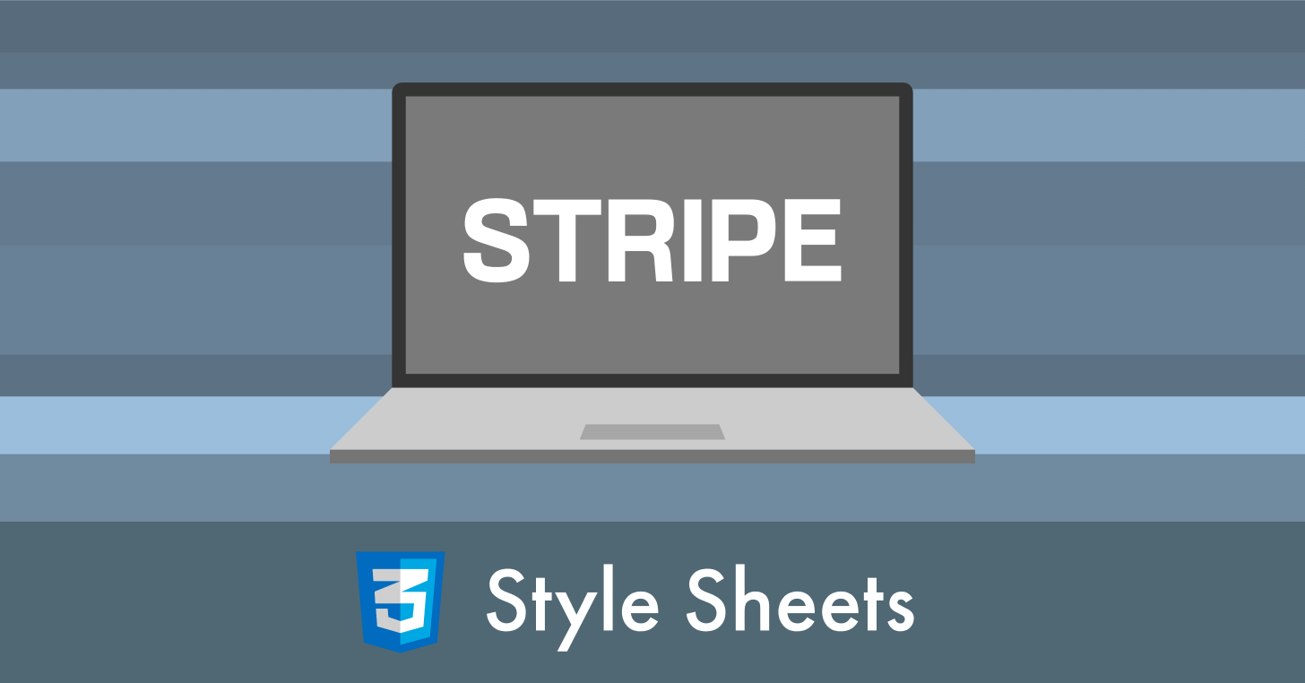 CSS で背景にストライプ柄を設定する方法【縦・横・斜めの縞模様】