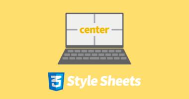 CSS で HTML 内の画像やテキストを中央寄せにする方法